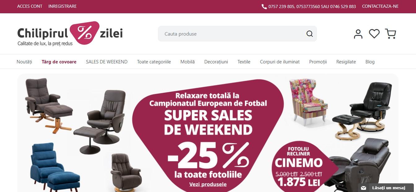 Magazin online cu produse pentru casa