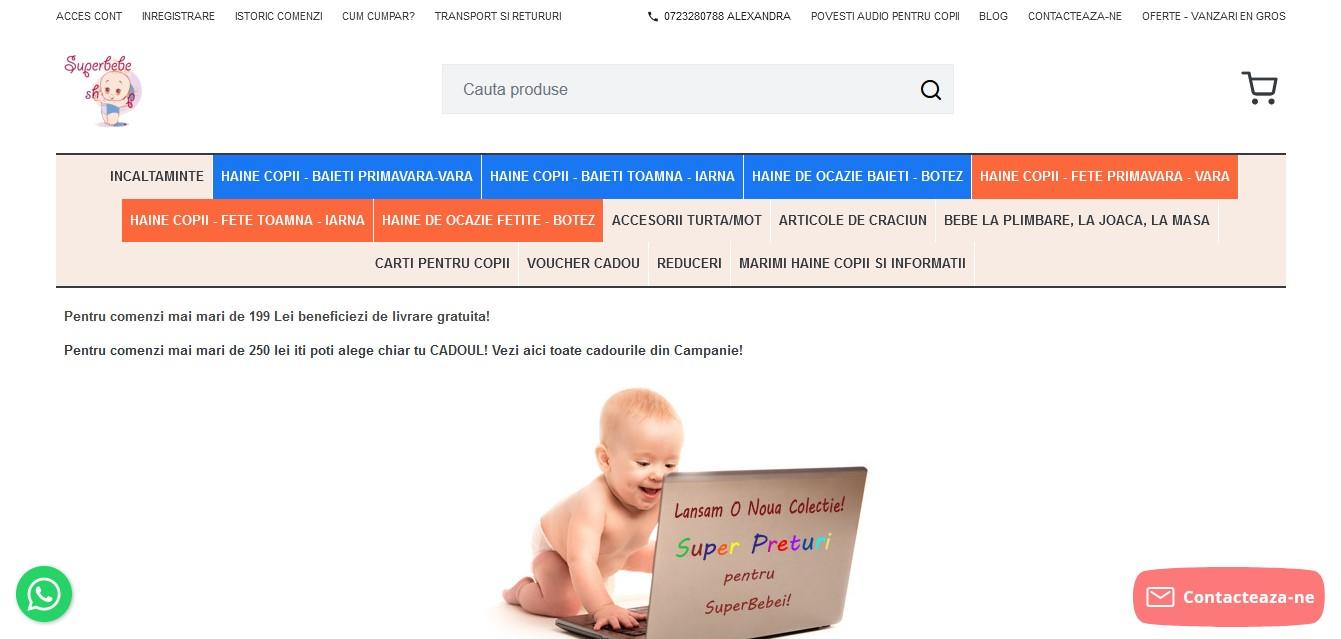 incaltaminte pentru bebelusi